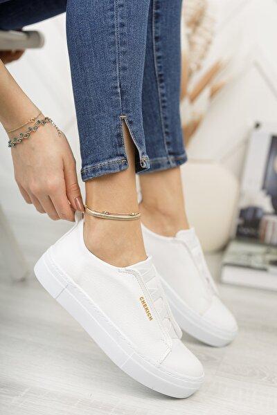 Chekich Ch013 Kadın Ayakkabı Beyaz