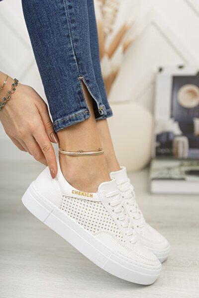 Chekich Ch015 Kadın Ayakkabı Beyaz