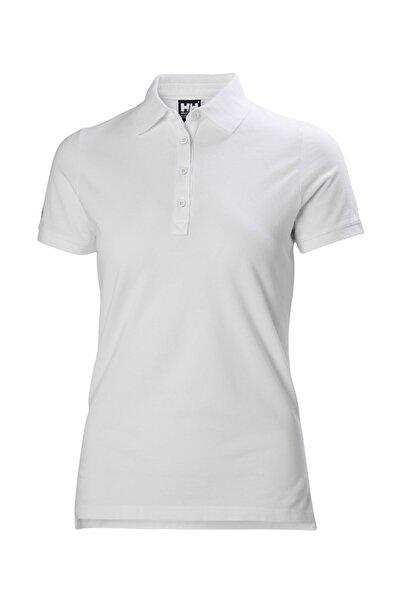 Helly Hansen Kadın Beyaz Polo Yaka Tshirt