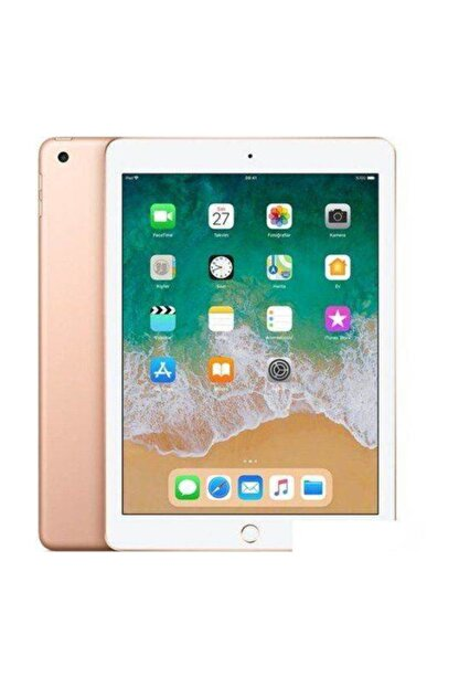 "Apple iPad 6.Nesil 32GB 9.7"" Wi-Fi + Cellular 4G IPS Tablet - Altın MRM02TU/A"