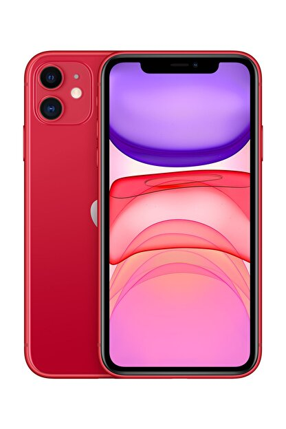 Apple iPhone 11 128GB (PRODUCT)RED Cep Telefonu (Apple Türkiye Garantili) Aksesuarlı Kutu