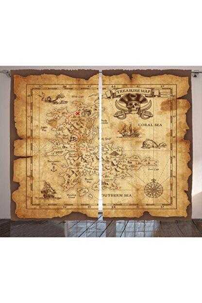 Orange Venue Haritalar Perde Korsan Haritası Temalı