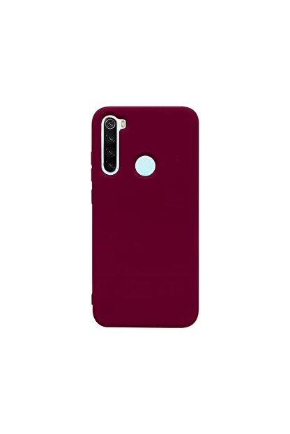 casemarkt Xiaomi Redmi Note 8 Lansman Bordo Silikon Telefon Kılıfı Mikro Fiber Iç Yüzey