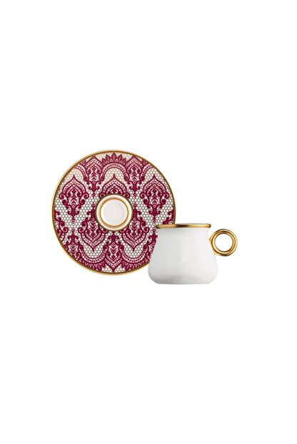 Glazze Mirage Porselen Kahve Seti 12 Parça