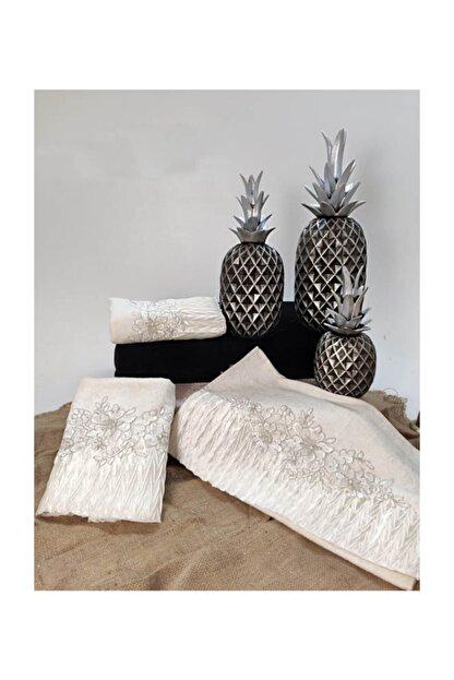 Çt Çeyizci Tekstil Çeyizlik Havlu 3 Adet - C11277