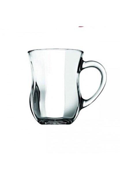 Paşabahçe Dem Optik Kulplu Çay Bardak 6'lı