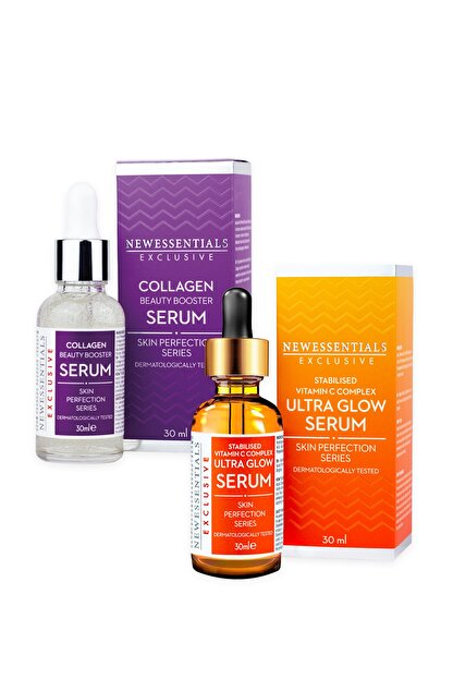 New Essentials C Vitamini + Kolajen Serum 2'li Set