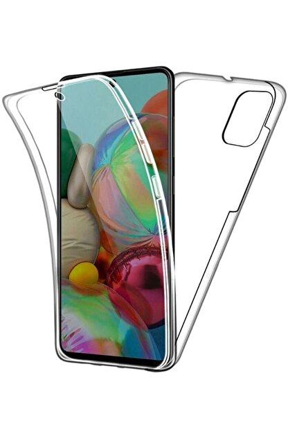 Coverzone Samsung Galaxy A51  Şeffaf Tam Koruma Silikon Kılıf