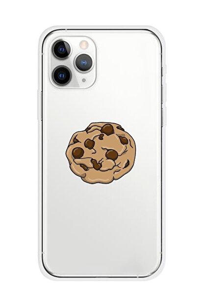 Mupity Kurabiye Tasarımlı Iphone 11 Pro Şeffaf Telefon Kılıfı