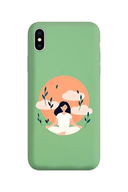 Spoyi Yeşil Lansman Kılıf Iphone Xs