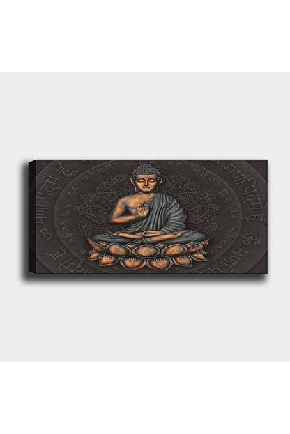 Shop365 Buda Kanvas Tablo 90 X 60 cm Sb-23644