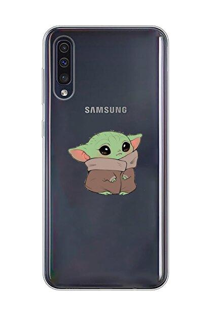 Mupity Bebek Yoda Tasarımlı Samsung A50-a30s Şeffaf Telefon Kılıfı