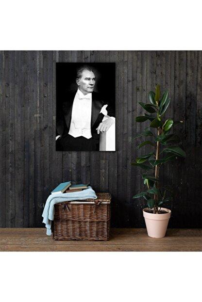 Dijitarz Atatürk Portre Kanvas Tablo