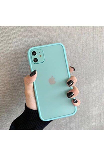 Mobildizayn Iphone 8 Soft Renkli Kenarlıklı Kılıf