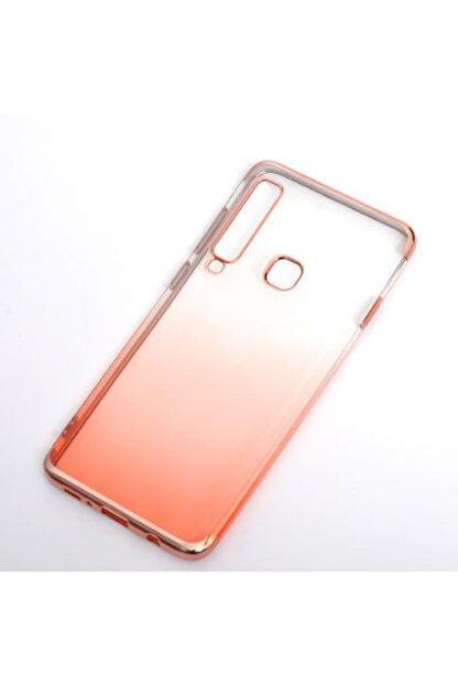 Zore Galaxy A9 2018 Kılıf Gramaphone Moss Silikon Roze Gold