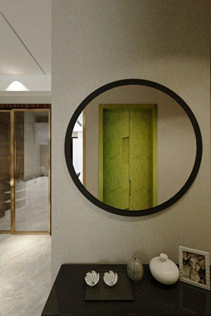 İkizlerçeyiz Wendy Dekoratif Konsol Aynası Mat Siyah 46 cm