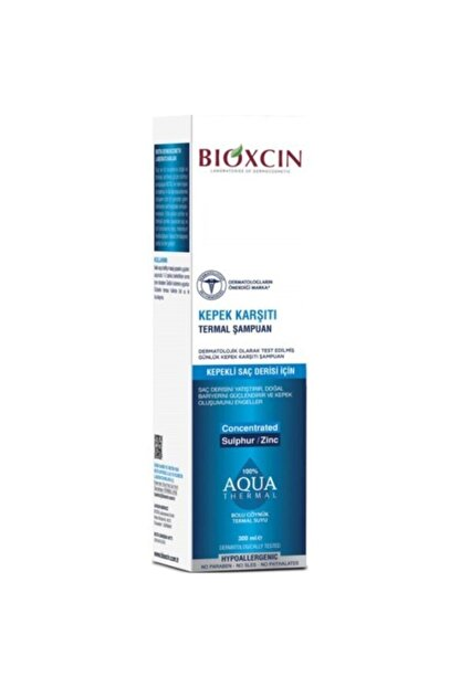 Bioxcin Aqua-Thermal Kepek Karşıtı Şampuan 2 x 300 ml