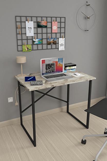 Bofigo 60x90 cm Çalışma Masası Laptop Bilgisayar Masası Ofis Ders Yemek Cocuk Masası Efes