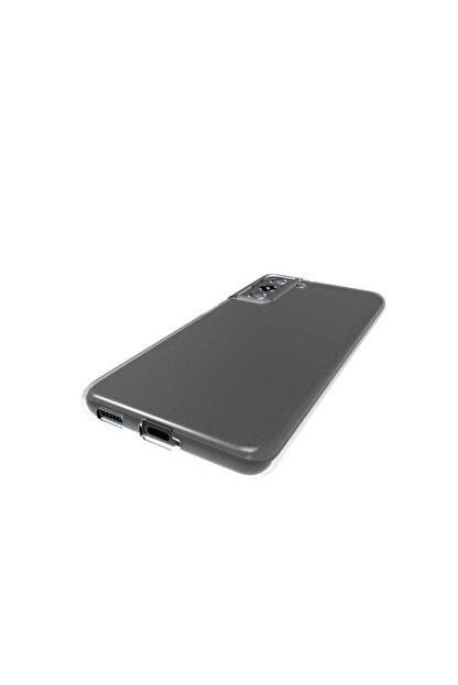 Samsung Galaxy S21 Kılıf Şeffaf Yumuşak Silikon Kapak