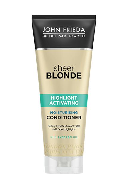 John Frieda Sarı Saçlara Özel Cansız Ve Rengi Solmuş Işıltılar İçin Renk Canlandırıcı Saç Bakım Kremi 250 ml