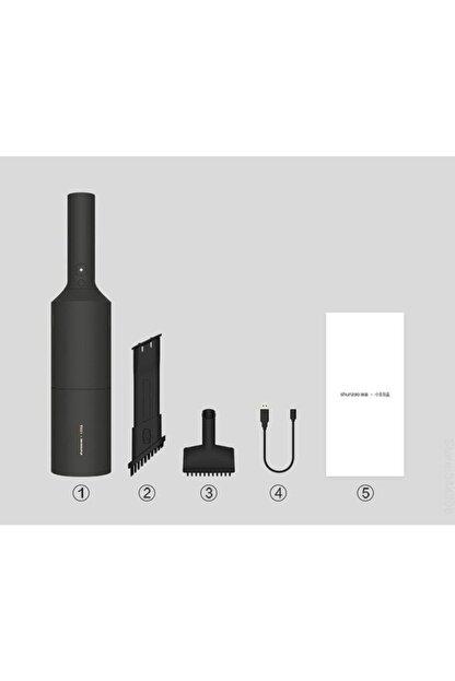 Xiaomi Shunzao Mi Vacuum Cleaner Z1 Elektrikli Portatif El Süpürgesi Siyah