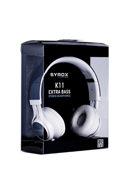 Syrox K11 Stereo Kablolu Kulaküstü Kulaklık