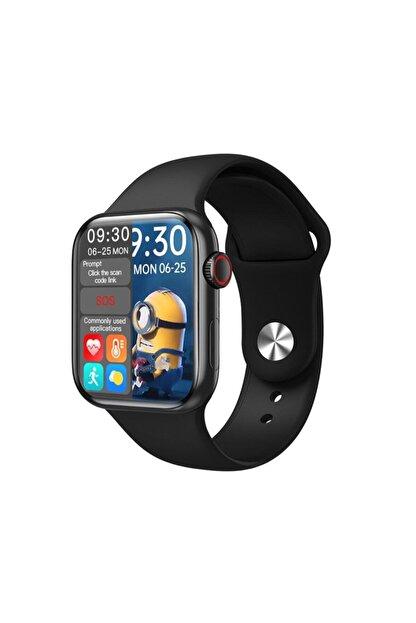 SMARTEST Hw16 Series Akıllı Saat Suya Dayanıklı Nabız & Tansiyon Ölçer Çok Fonksiyonlu Ios Ve Android Uyumlu