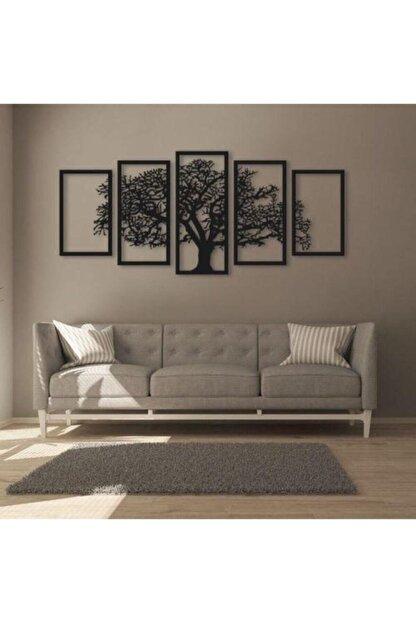Oze Ağaç Silüetli Ahşap Tablo