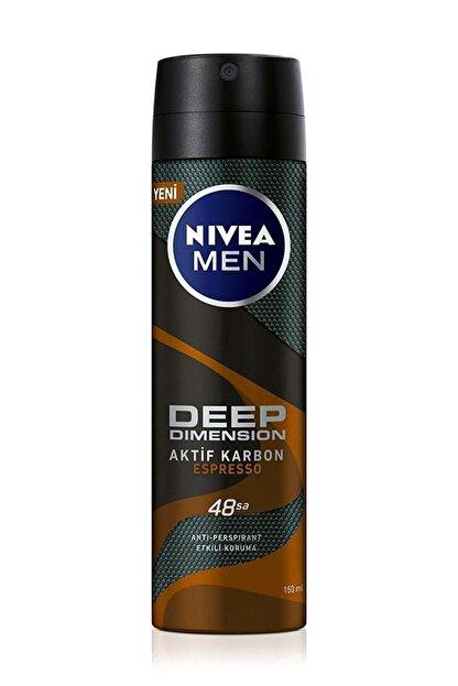 Nivea Nıvea Deep Dimension Espresso Deodorant Erkek 150 ml