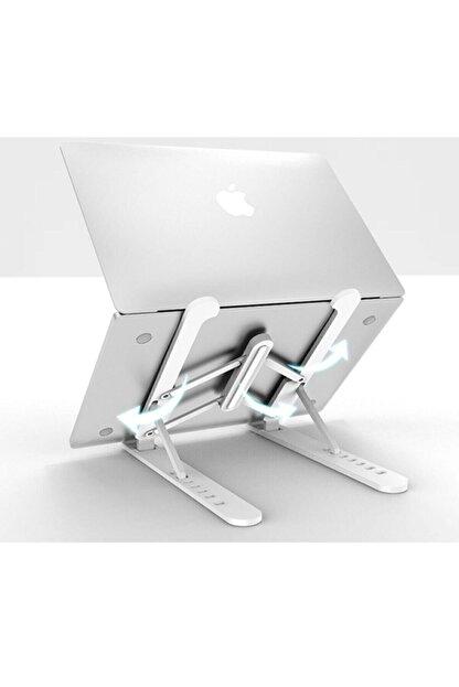 Universal Detayteknoloji Notebook Laptop Standı Özel Yükseltici Aparat Alüminyum Görüntü