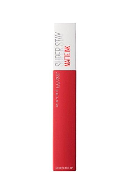Maybelline Super Stay Matte Ink Likit Mat Ruj - 20 Pioneer - Kırmızı