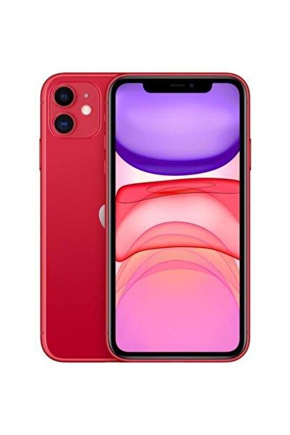 Apple iPhone 11 64GB Red - Apple Türkiye Garantili