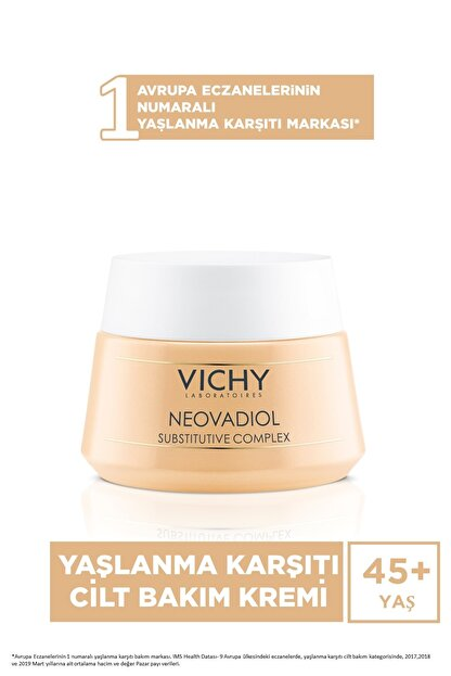 Vichy Neovadiol Cream - Yaşlanma Karşıtı Gündüz Bakım Kremi 50ml