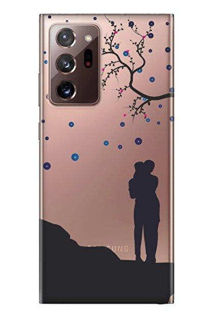 cupcase Samsung Galaxy Note 20 Ultra Kılıf Desenli Silikon Telefon Kapak