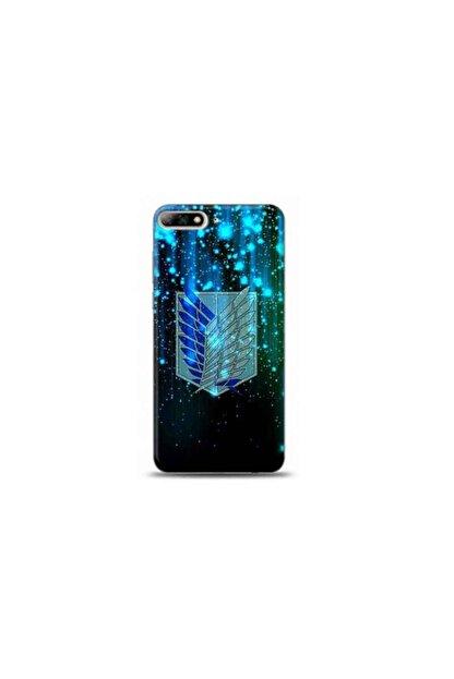 Kılıf City Huawei Y6 2018 Attack On Titan Tasarımlı Telefon Kılıfı