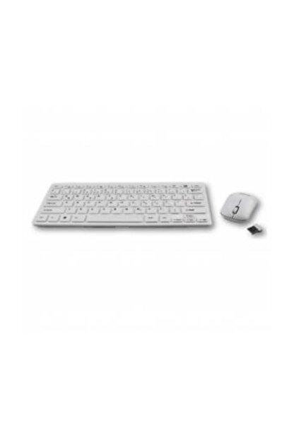Polygold Pc & Smart Tv Klavyesi Kablosuz Klavye Mouse Seti Şık Tasarım 8030