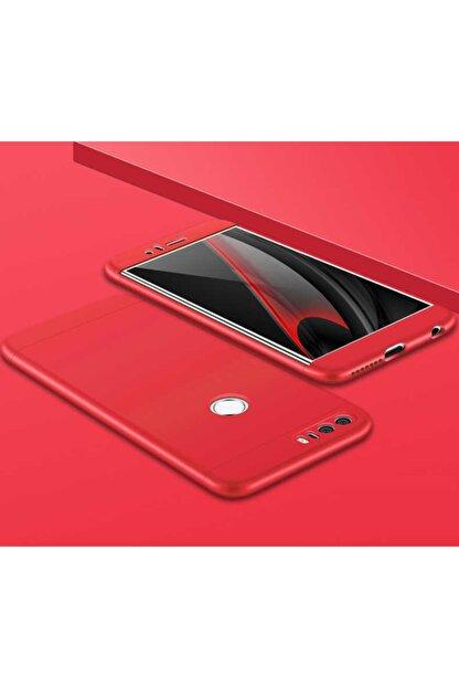 Dijimedia Huawei P9 Lite 2017 Kılıf Ays Kapak Rose Gold