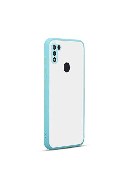 Nezih Case Samsung A11 Renkli Silikon Kılıf (parmak Izi Yapmaz Leke Tutmaz) Turkuaz