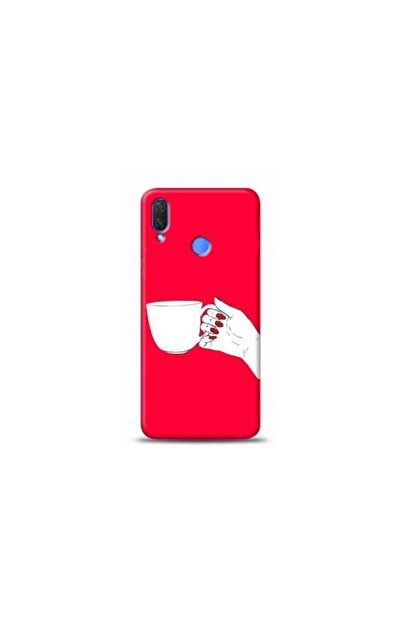 Kılıf Madeni Huawei P Smart 2019 Kahve Pembe Koleksiyon Telefon Kılıfı