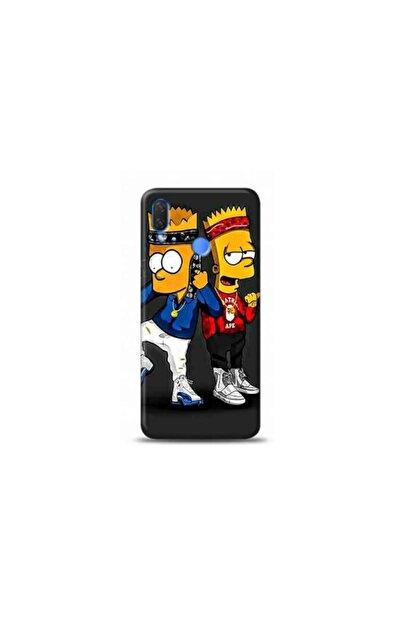 Kılıf Madeni Huawei P Smart 2019 Simsin Tasarimli Telefon Kılıfı
