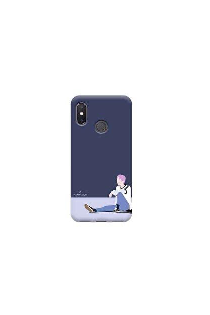 Kılıf Madeni Xiaomi Mi 8 Pentagon Tasarimli Telefon Kılıfı Y-pntgn004