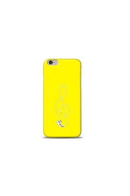 Kılıf Madeni Iphone 6 Plus Veya 6s Plus Solo Anahtarı Sarı Koleksiyon Telefon Kılıfı
