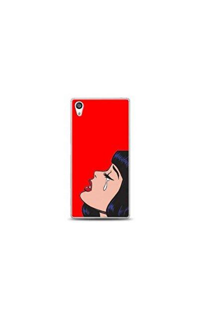 Kılıf Madeni Sony Xperia L1 Kırmızı Koleksiyon Telefon Kılıfı