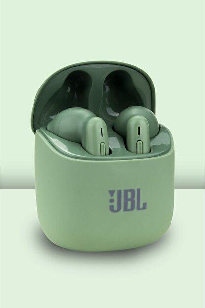 zirvetaki J-141 Jbl Tune 220 Tws Kablosuz Kulak Içi Bluetooth Kulaklık Yeşil T220