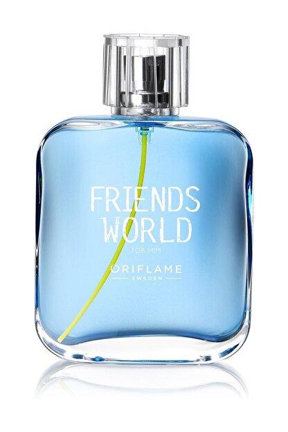 Oriflame Friends World for Him Edt 75 ml Erkek Parfümü 5698541265154