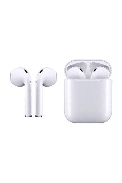 Tws OWWOTECH I12 Bluetooth Kulaklık Renkli Dokunmatik Beyaz Renk