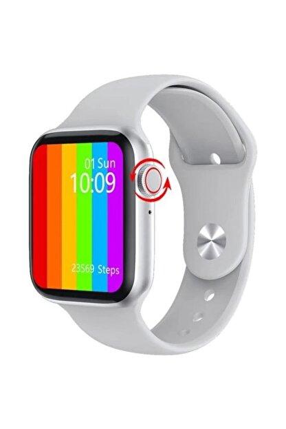 Palmira Aksesuar Iphone Ve Android Uyumlu Watch 6 Plus Son Nesil Siyah Yan Düğme Ileri Geri Ve Yakınlaştırma Aktif