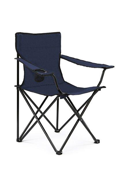Walke Katlanabilir Kamp Sandalyesi Piknik Sandalyesi Plaj Sandalyesi Mavi Taşıma Çantalı
