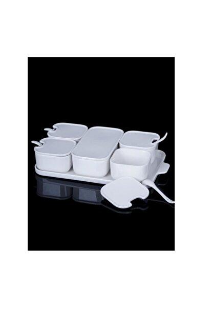 ACAR Sct10875 Pure Porselen Kahvaltılık 6lı