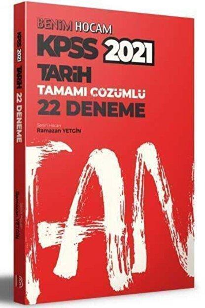 Benim Hocam Yayınları 2021 Kpss Tarih 22 Deneme Çözümlü - Ramazan Yetgin